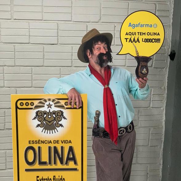 A Olina quis trazer para o público sua tradição – e contou conosco para isso, com um display autoportante em polidonda 3 mm.