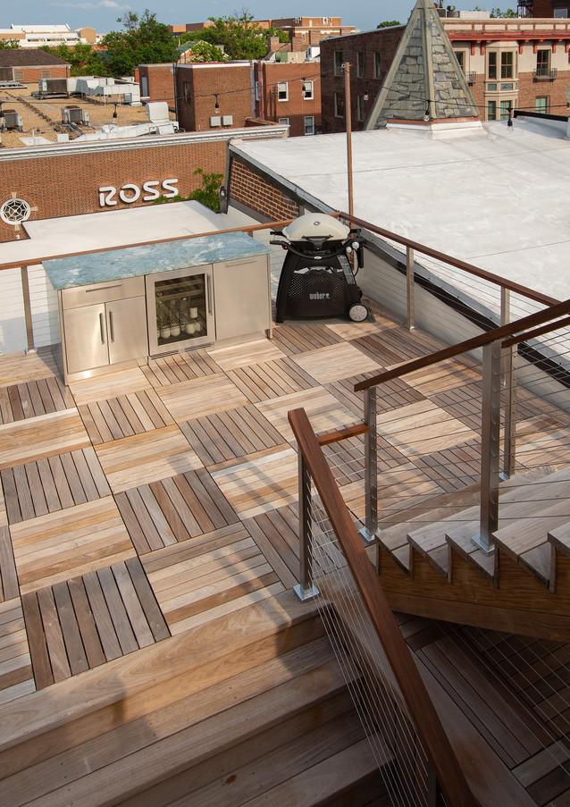 Alternate view of lower deck