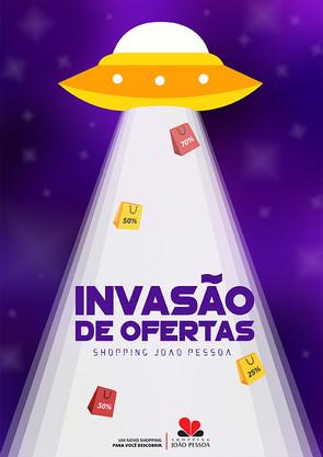 Invasão de Ofertas Shopping João Pessoa