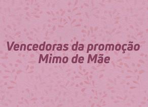Relação de ganhadores campanha Dia das Mães