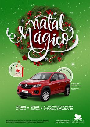 Natal Mágico Shopping João Pessoa