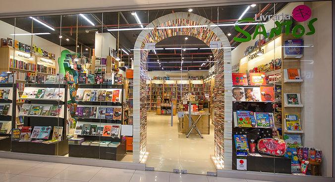loja livraria santos shopping joão pessoa porto alegre