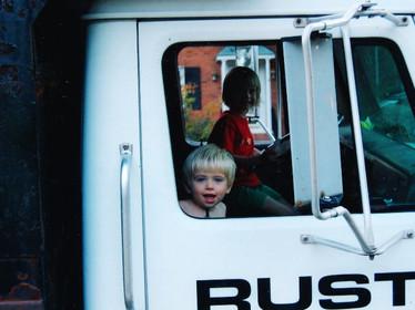 Rust Co. dump truck