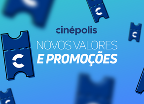 Novos valores e promoções do cinema