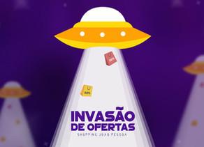 Invasão de Ofertas chega ao Shopping João Pessoa