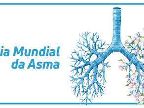 Ação de conscientização do Dia Mundial da Asma