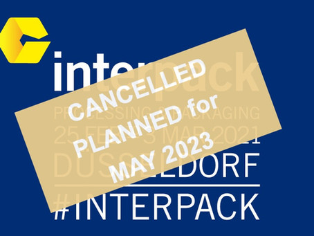 Interpack 2021 –  cancelled