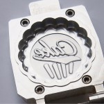 Logo in funcake mould