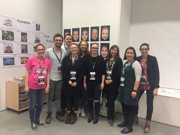 Explorathon 2018: Strathclyde Applied Psychology Lab, Stirling Face Lab & Professor Sarah Steven