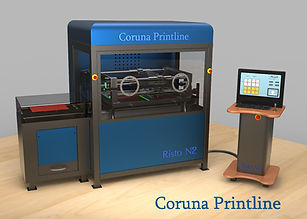 gedruckte Elektronik, Drucker, Siebdruck, Anlage