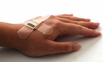 Plaster, hand, treatment, electronics, smart medical devices