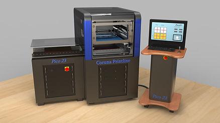 printer, screen printing machine, high precision