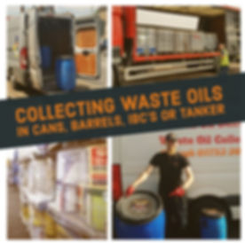 Waste Cooking Oil Collection