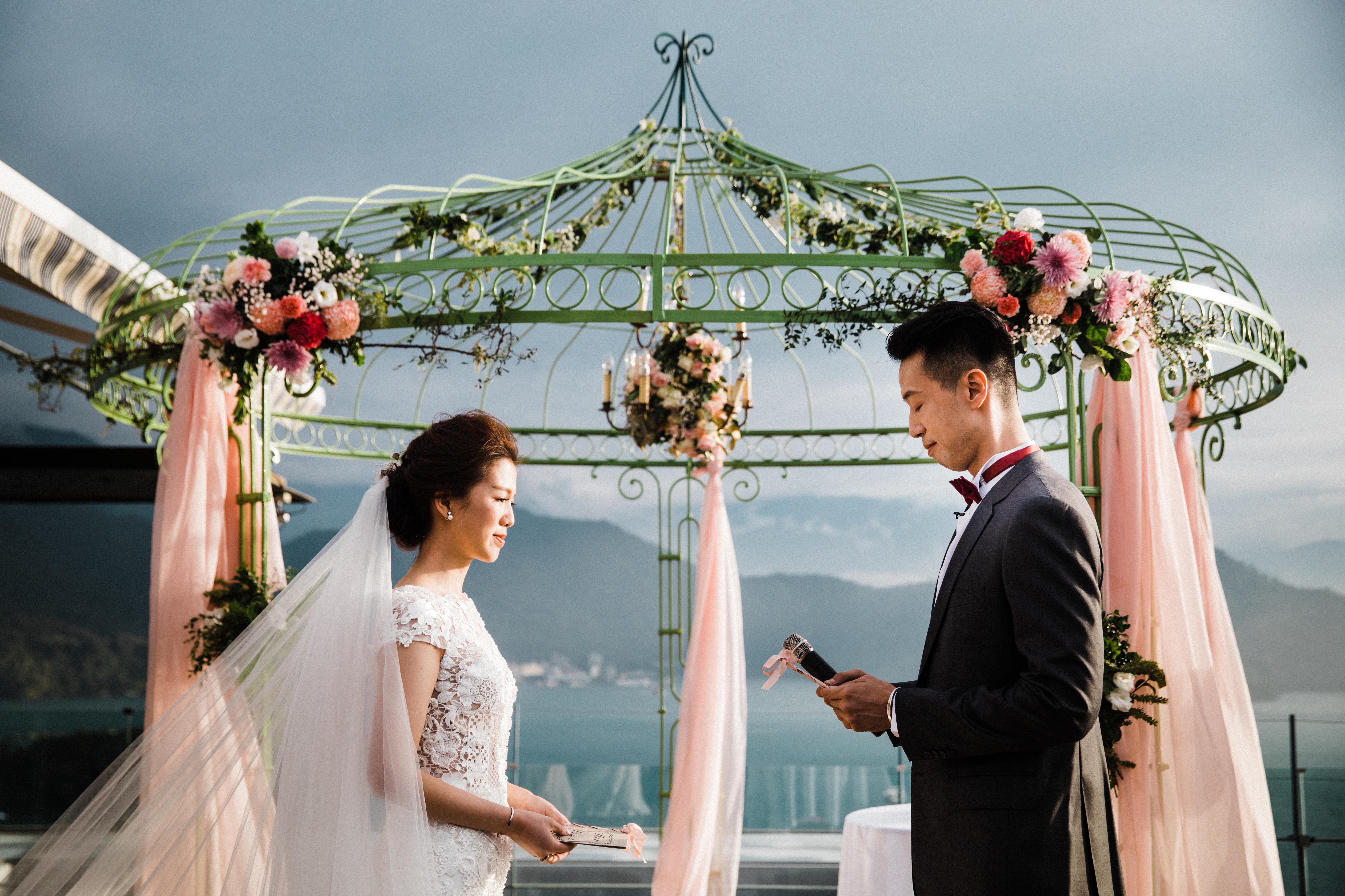▍ 南投婚禮紀錄  ▍日月潭雲品酒店 戶外婚禮 2017