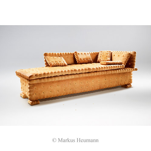 Biscuit sofa