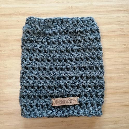 Graphite Crochet Snood