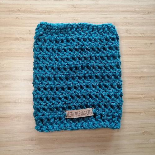 Teal Crochet Snood