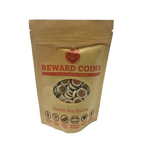 Papaya Fruit Flavoured Reward Coins