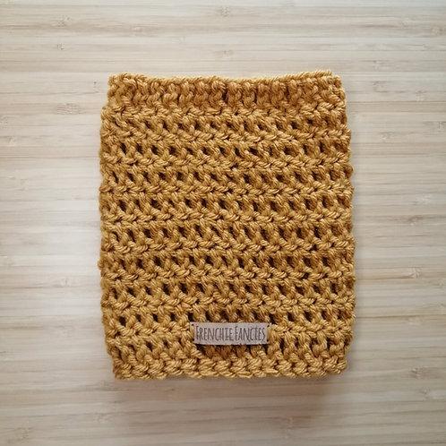 Gold Crochet Snood