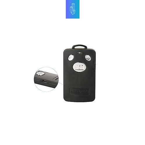 Control Bluetooth para tomar fotos y videos