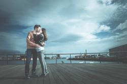 Wedding photography Titanic Belfast