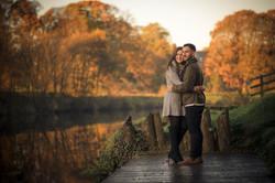 Autumn engagement shoot northern ireland