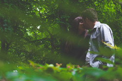 Engaged couple crawfordsburn