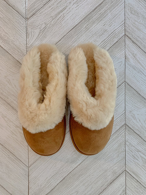 Sheepskin Slipper - Ladies Up Country Clog