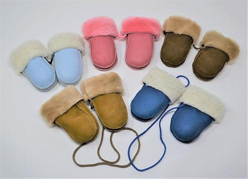 Sheepskin Infant Mittens
