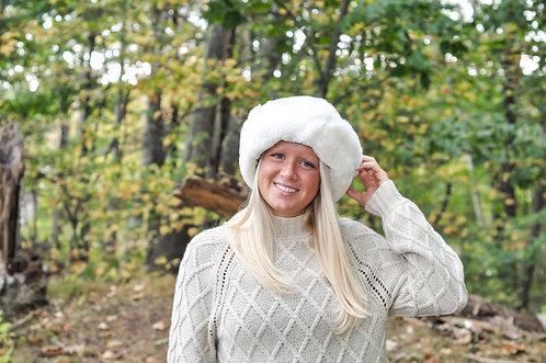 Sheepskin Hat - Snowball