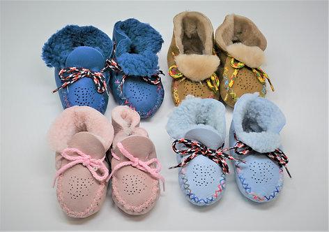 Sheepskin Infant Bootie