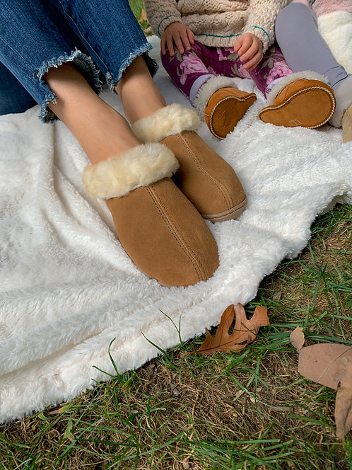Sheepskin Slipper  - Ladies Mountain Scuff
