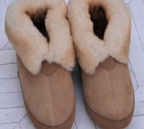 Sheepskin Slipper - Ladies Outback