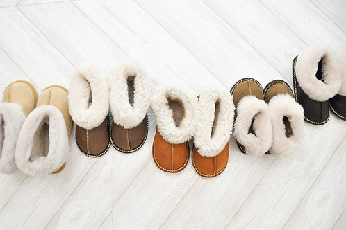 Sheepskin Kids Slippers