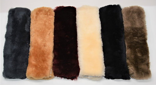 Sheepskin - Seat Belt Cover