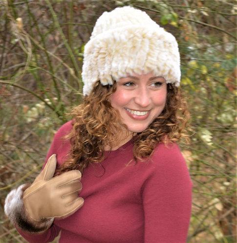 Rex Rabbit Cloche Hat (cuffed)