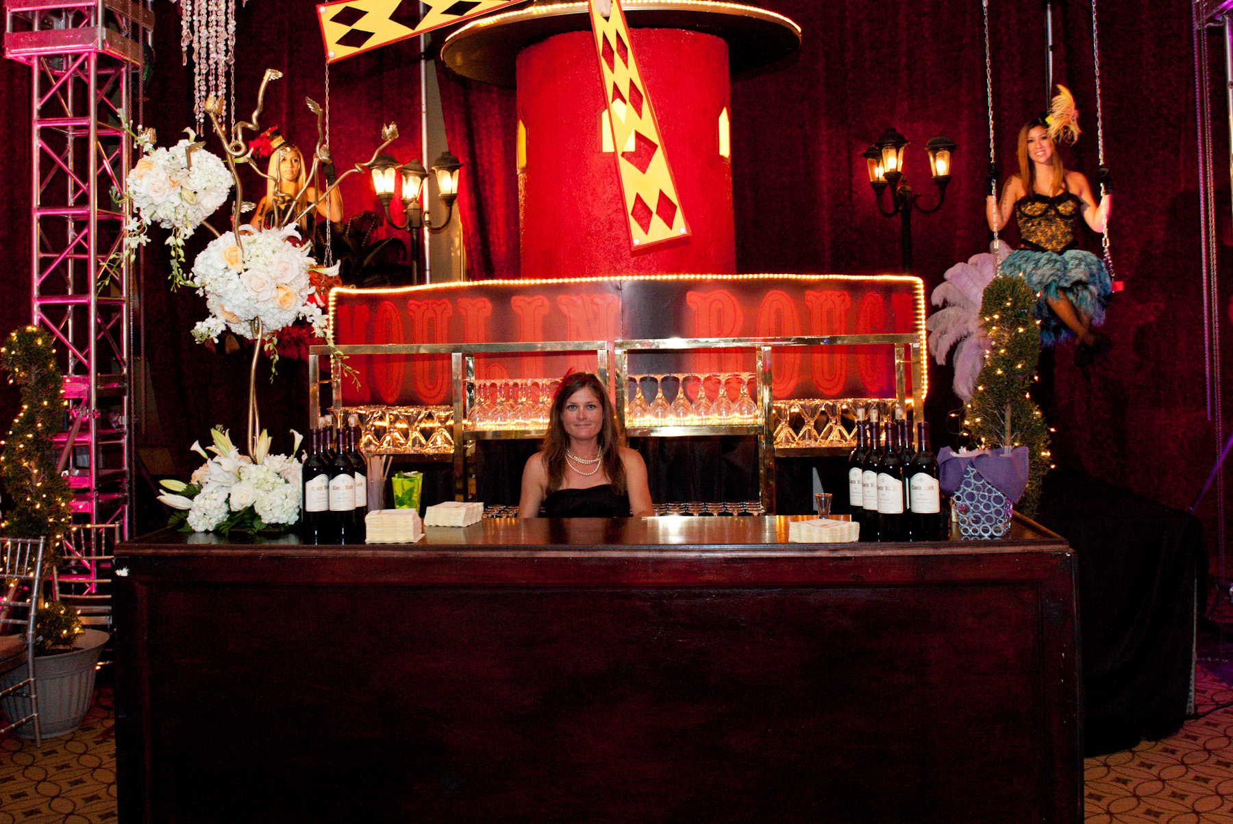 French Moulin Rouge Theme