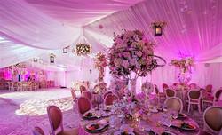 Beautiful pink reception insporation