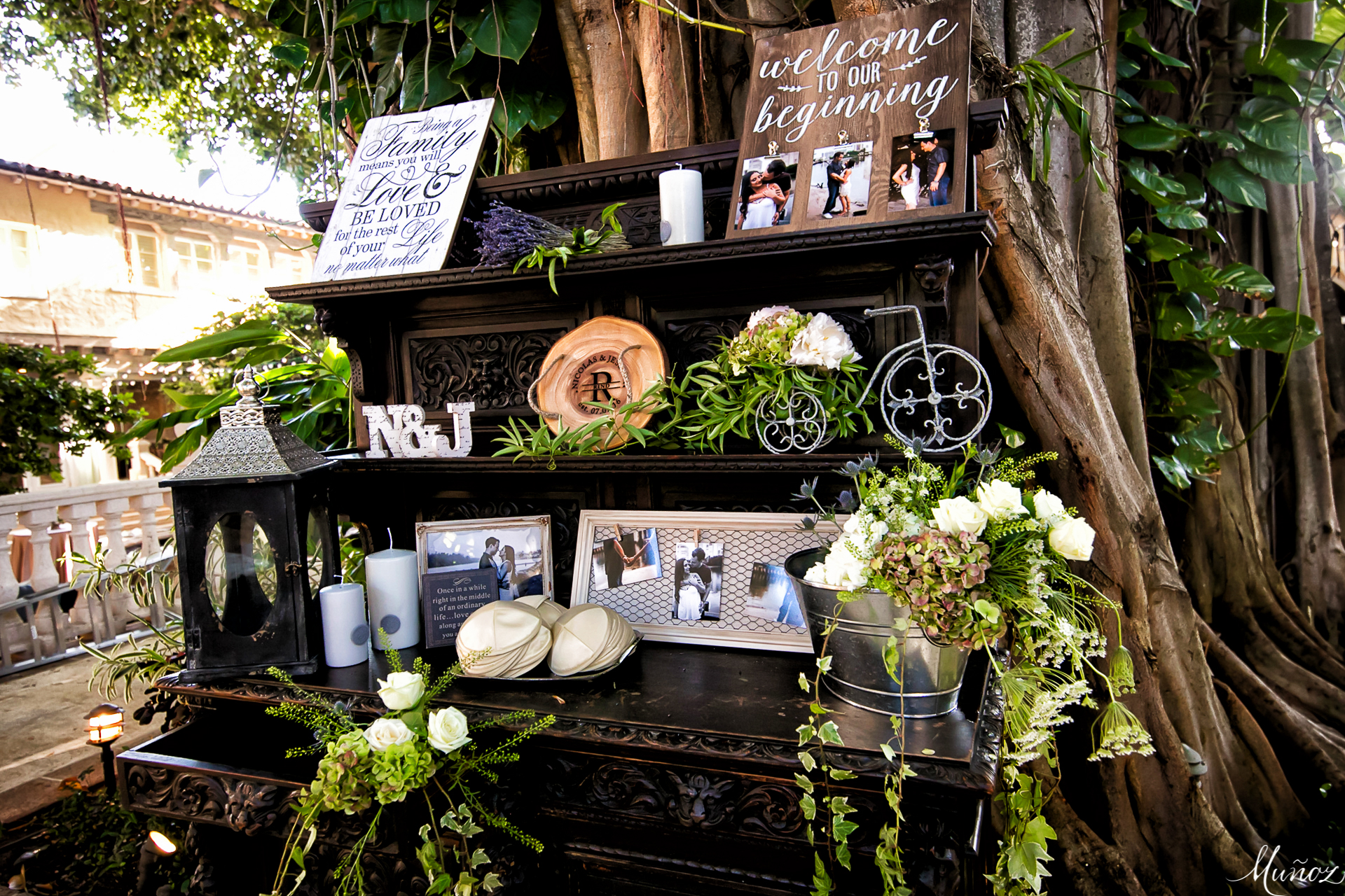 The best Wedding arrival display