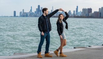 Chicago Theater Engagement Session | Downtown Chicago  | Chicago Photographer