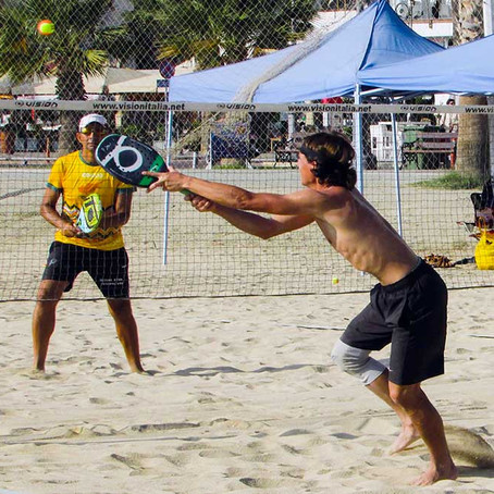The Health Benefits of Playing Beach Tennis