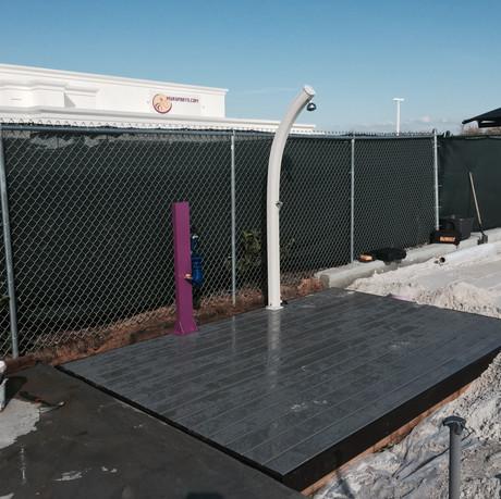 Sand Court Experts Spray Station