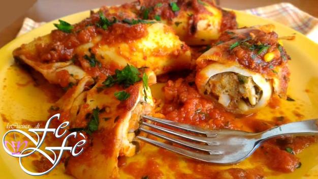 Calamari ripieni alla siciliana home la cucina di fefè