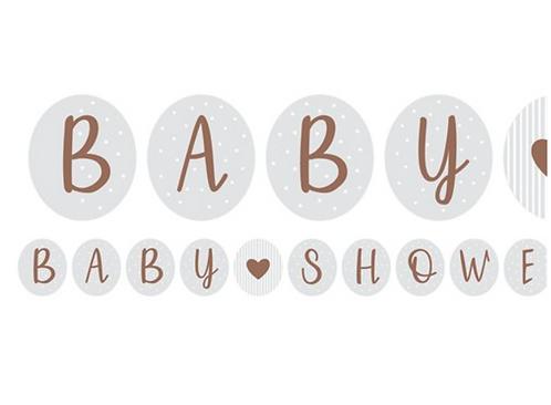 Baby Shower Bunting
