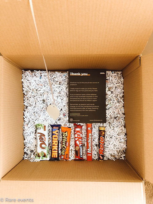 Kids Balloon treat box