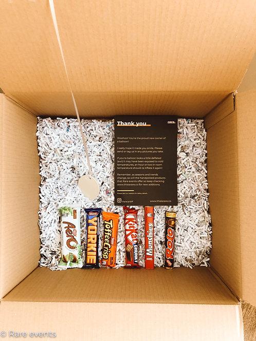 Birthday Balloon treat box