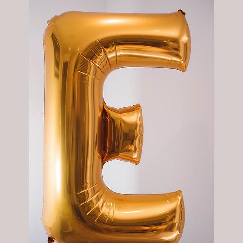 Giant letter foil