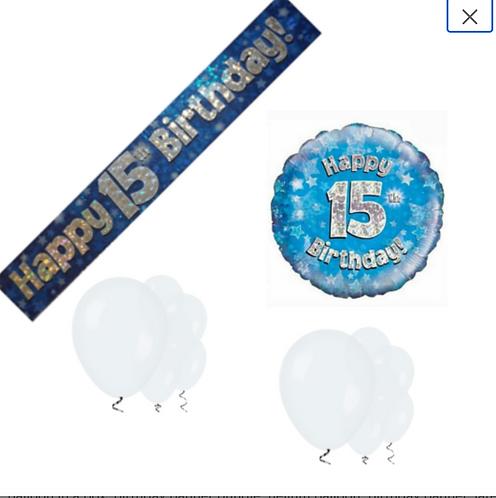 Balloon and banner bundle