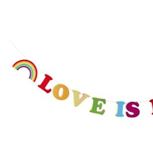 Love is Love banner