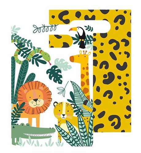 Safari Themed Paper Party Bags
